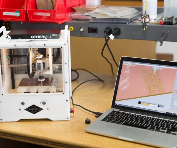 Othermill Pro Etches, Mills, and Prototypes Precise Circuit Boards on Your Desktop