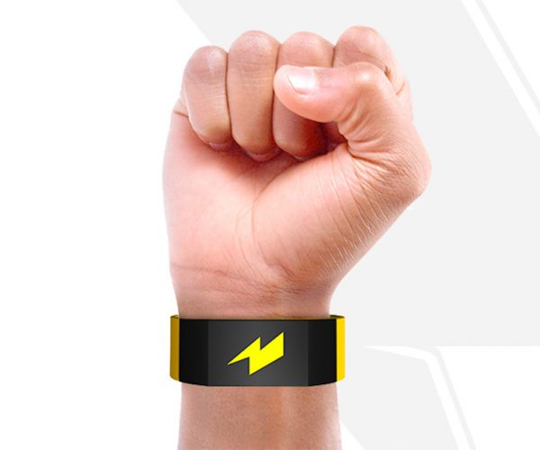 Pavlok Wristband Shocks You Awake