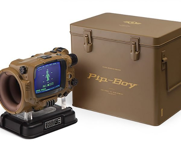 Pip-Boy Deluxe Bluetooth Edition Can't Block Preston Garvey