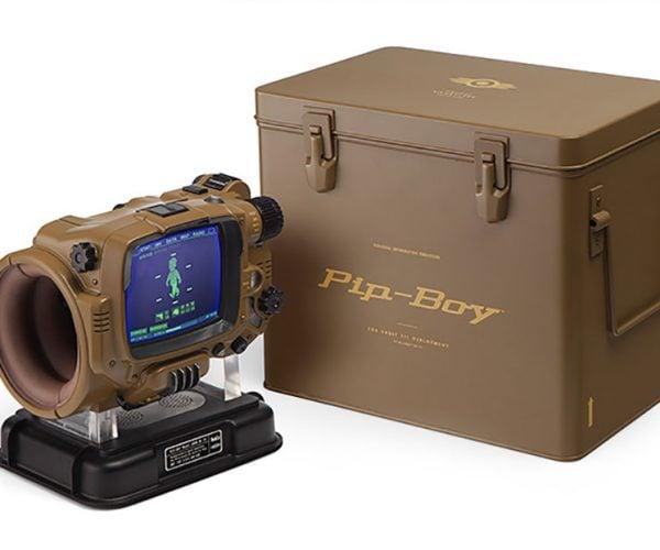 Pip-Boy Deluxe Bluetooth Edition Can't Block Preston Garvey