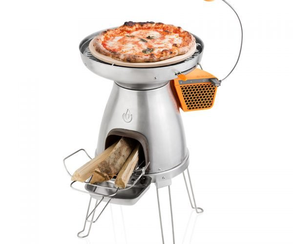 PizzaDome Makes Roughing it Less Rough