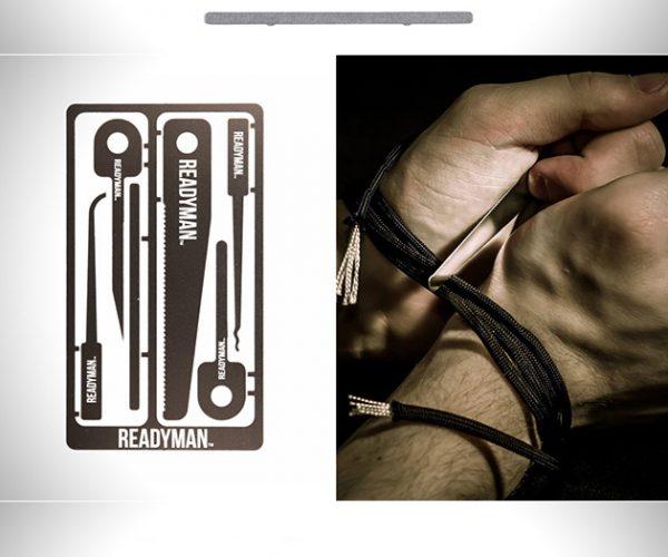 Readyman Hostage Escape Survival Credit Card