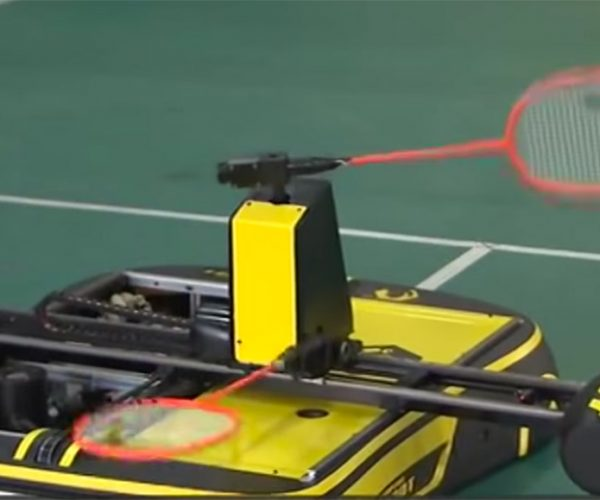 This Badminton-playing Robot Is No Joke