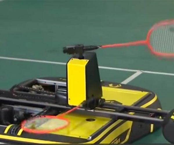 This Badminton-playing Robot Is No Joke