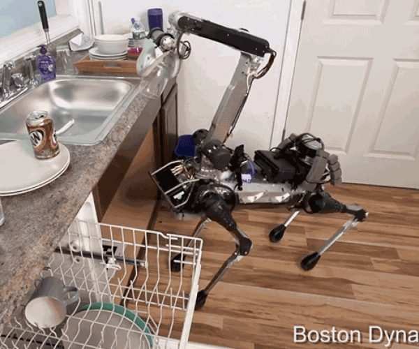 SpotMini Is a Robot Dog That Does Chores for You