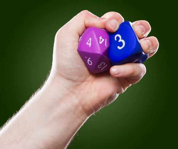 Squishy Dice Protect Your Nads from Angry Dungeon Masters