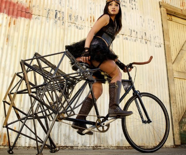This Strandbeest Inspired Bike Is a Slow Ride