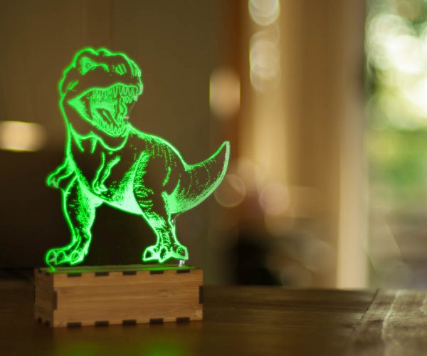 T.Rex Nightlight Guards You While You Dino-snore
