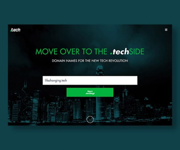 Deal: Get a '.tech' Domain Name for up to 92% off