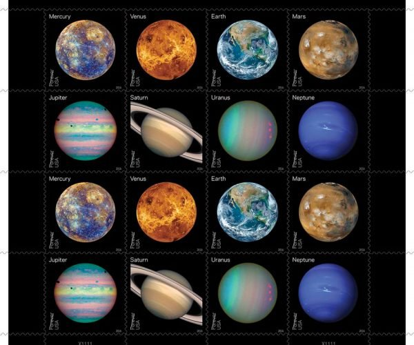 USPS Debuts Views of Our Planets Stamps: Planet Express