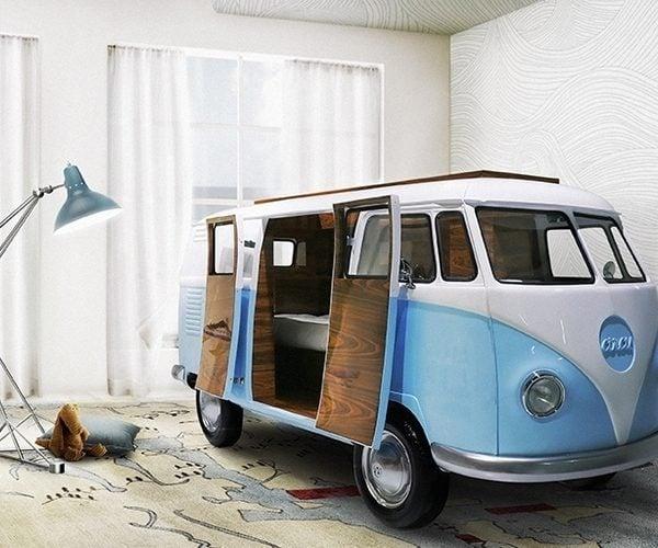 VW Camper Bedroom: Zzzzzz W