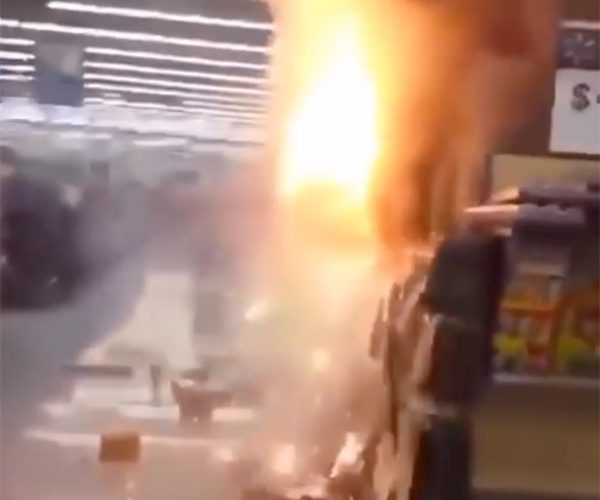 Spectacularly Stupid People Set Wal-Mart Fireworks Display Ablaze