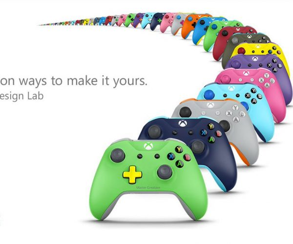 Xbox Design Lab Lets You Customize Your Controllers