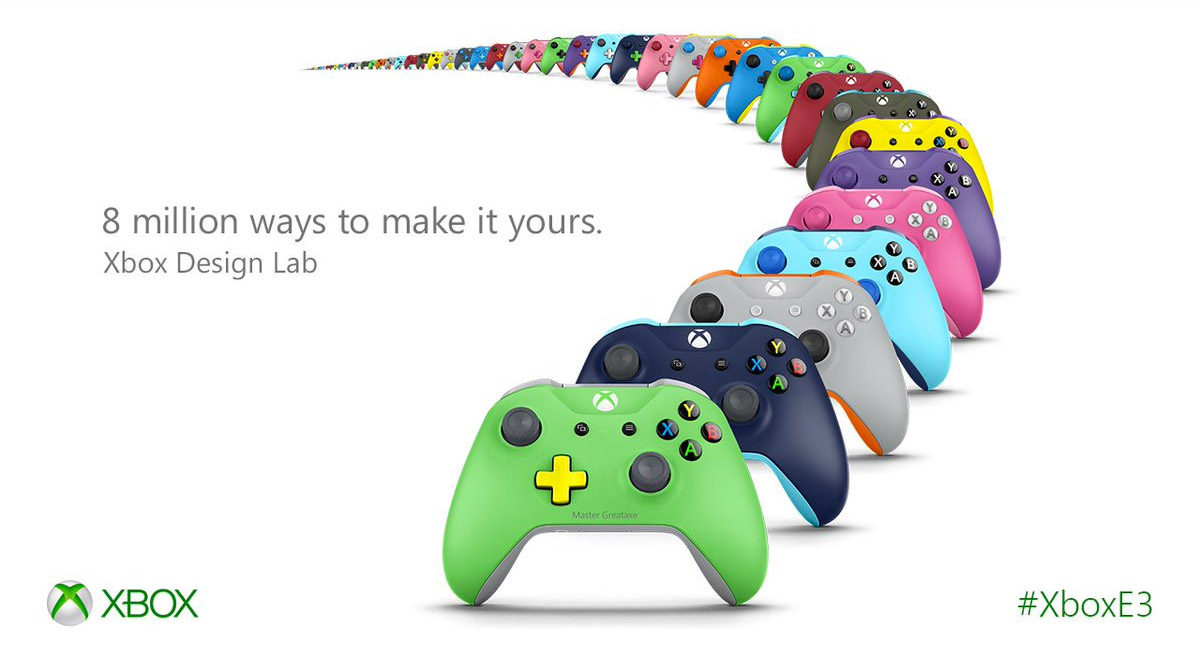 Xbox Design Lab Lets You Customize Your Controllers ...