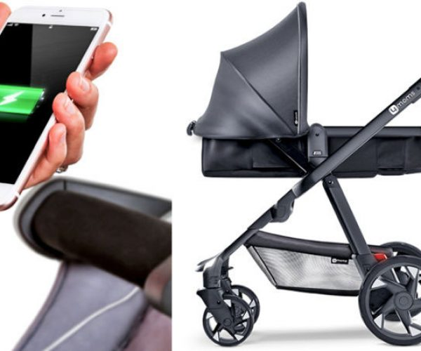 Moxi Stroller Charges Your Phone via Generator Wheels