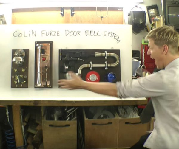 Colin Furze Builds World's Most Effective Doorbell System