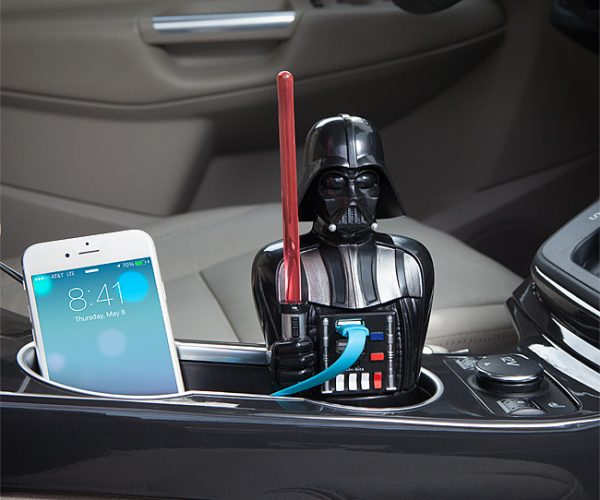 Darth Vader USB Car Charger: Luke, I am Your Charger!