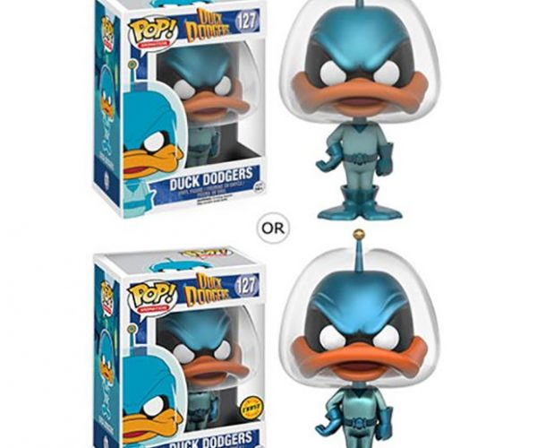 Duck Dodgers POP! Figures are from the 24 1/2th Century