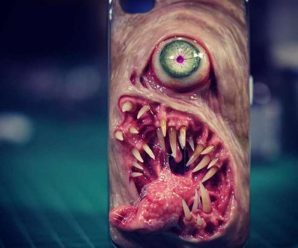 You Can't Look Away from These Horribly Disgusting Smartphone Cases