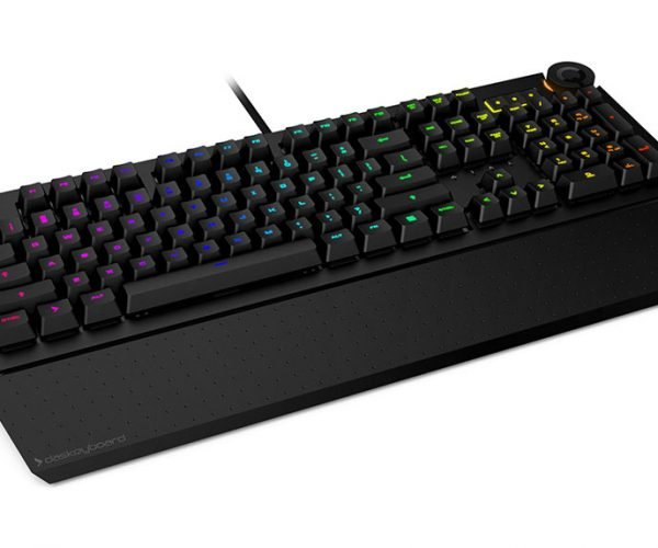 Das Keyboard 5Q Has All the Clicks and Can Display Data Using Colors