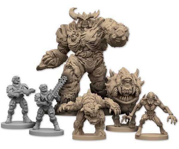 DOOM Board Game Invades Earth This Year