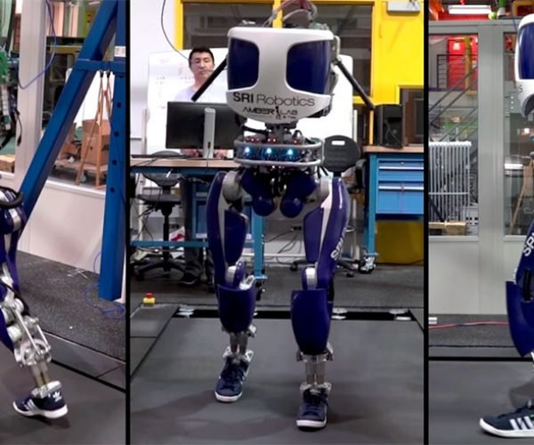 DURUS Walks Like a Human: The Robot Wore Tennis Shoes