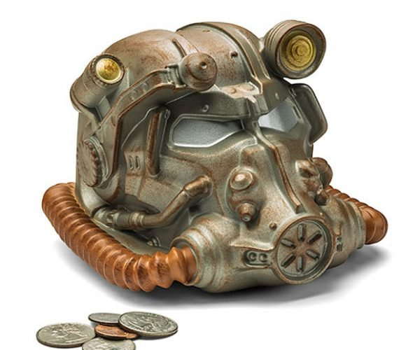 Fallout Power Helmet Bank Won't Hold Bottle Caps