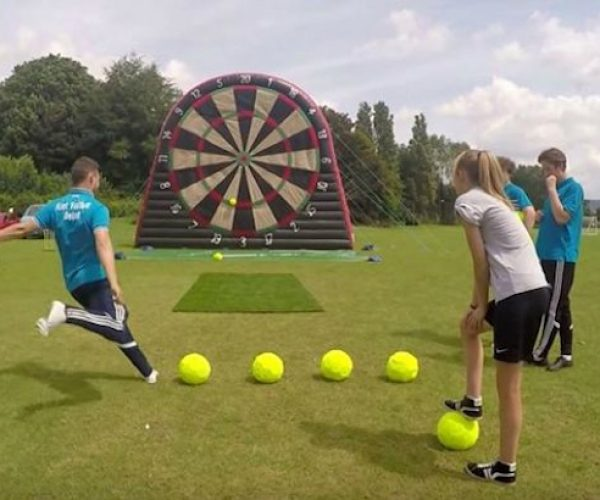 Foot Darts Is a Mashup of Soccer and Darts