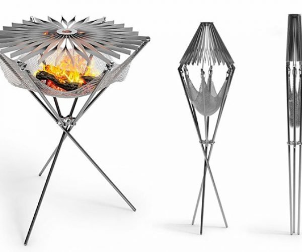 This Portable Grill is Simply Beautiful