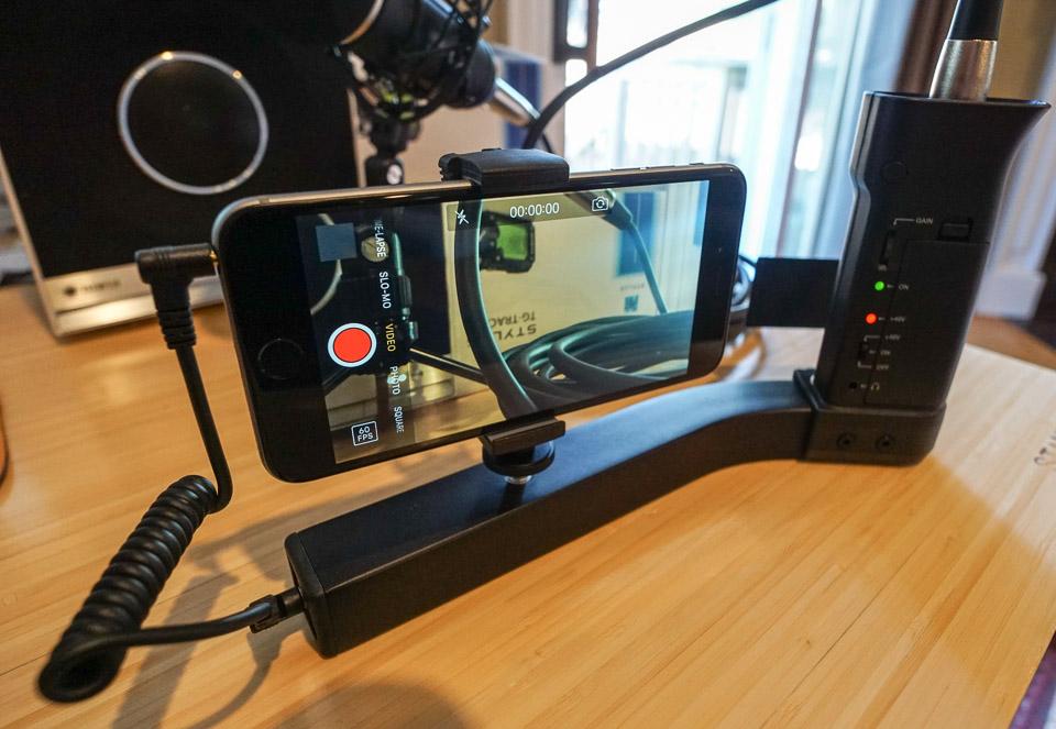 Review: iKlip A/V Smartphone Pro Camera Rig - Technabob