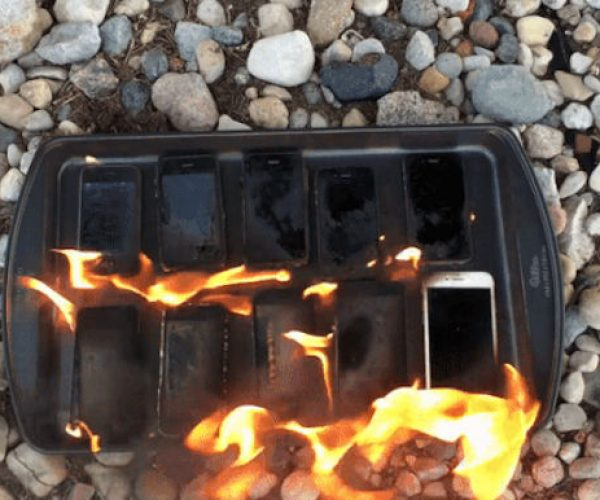 Guy Sets Every Generation of iPhone on Fire, Because Internet.