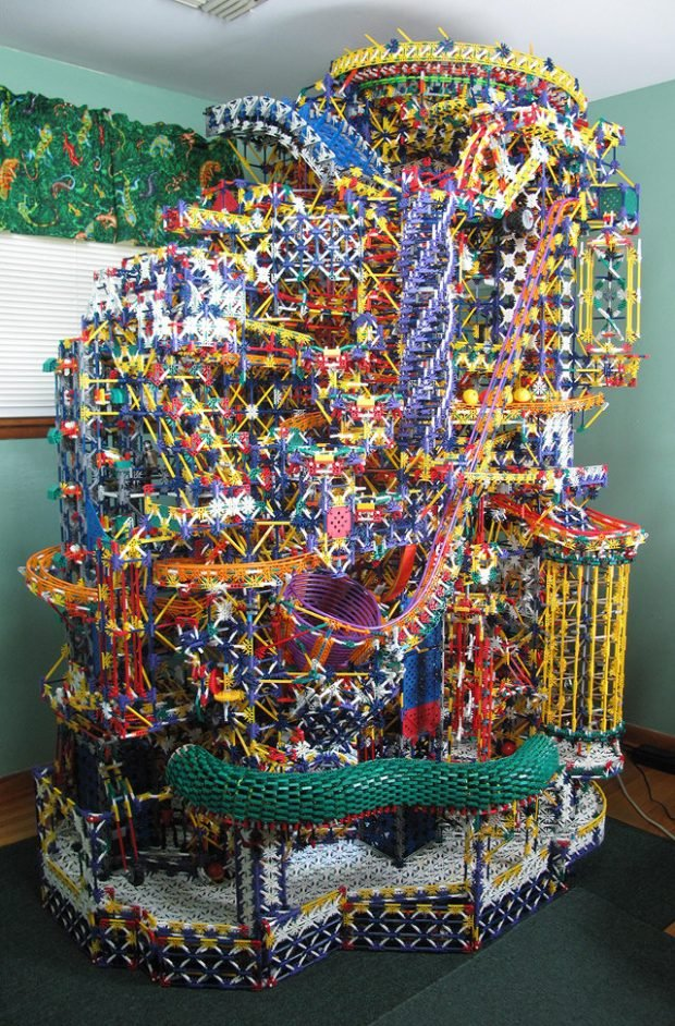 This Epic K Nex Ball Machine Is A True Mechanical Marvel