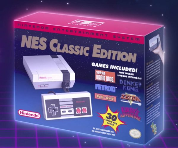 The NES Mini Gets a Retro Commercial
