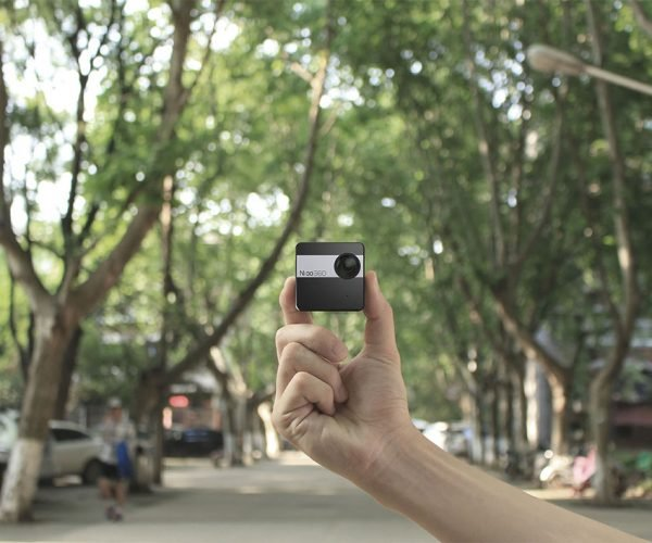 Nico360 Camera Live Streams 360-degree Video