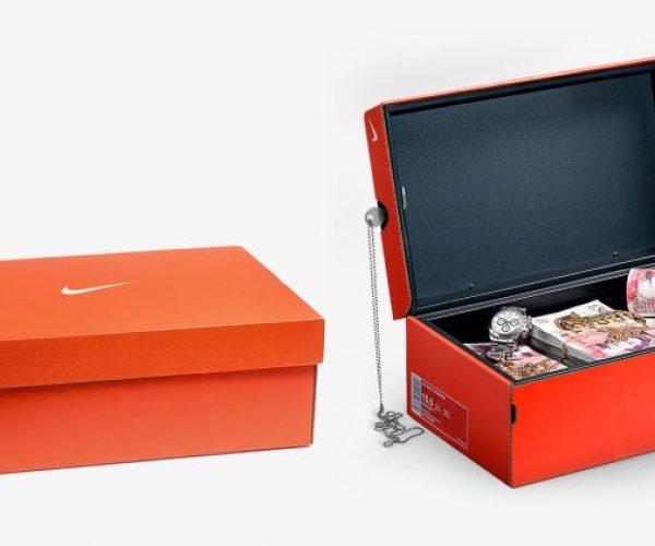 This Nike Shoebox Is Actually a Safe