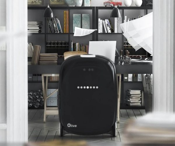 Olive Autonomous Suitcase Will Follow You Around the Airport