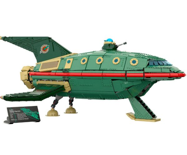 LEGO Planet Express Ship: Our Minifig Crew Is Replaceable, Your Package Isn't
