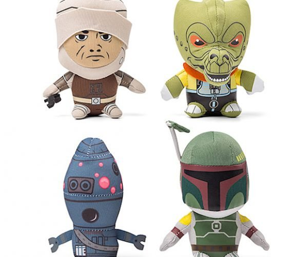 Plush Star Wars Mini Bounty Hunters
