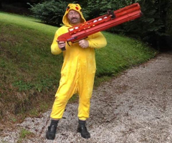 Joerg Sprave's Pokémon Pumpgun: for Real Life Pokémon GO Hunting