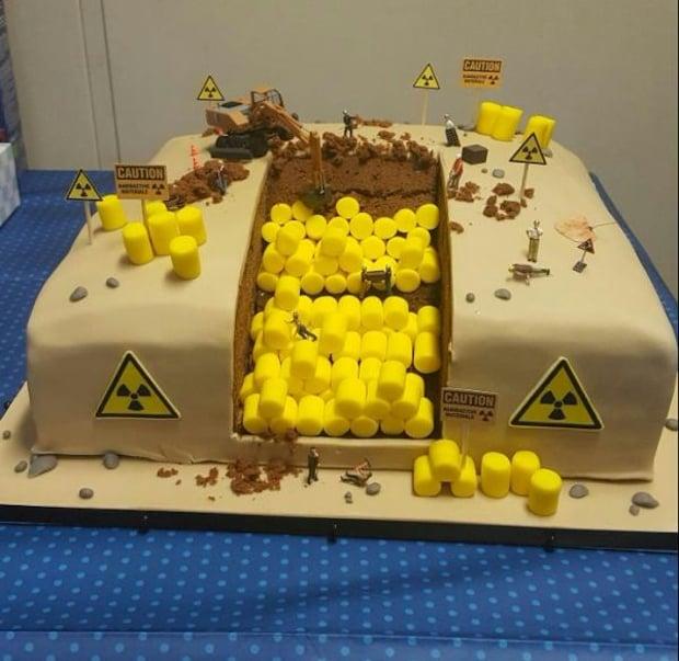 This Radioactive Waste Birthday Cake Is Rad Technabob