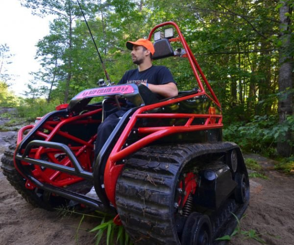 The Ripchair 3.0 Is an Off-road Capable Wheelchair