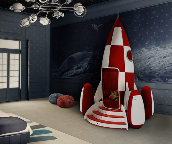Rocky Rocket Spaceship Chair: Blast off Indoors