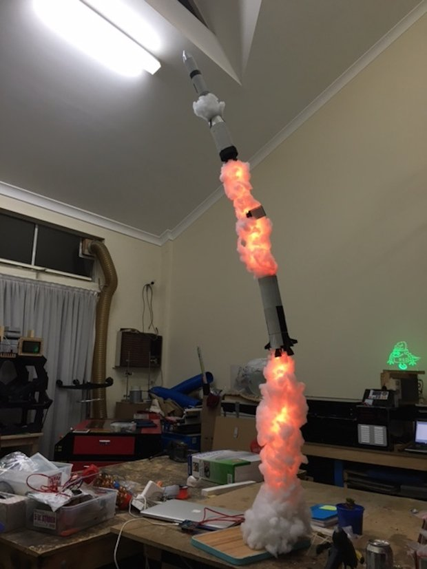 Make Your Own Rocket Lamp And Blast Off