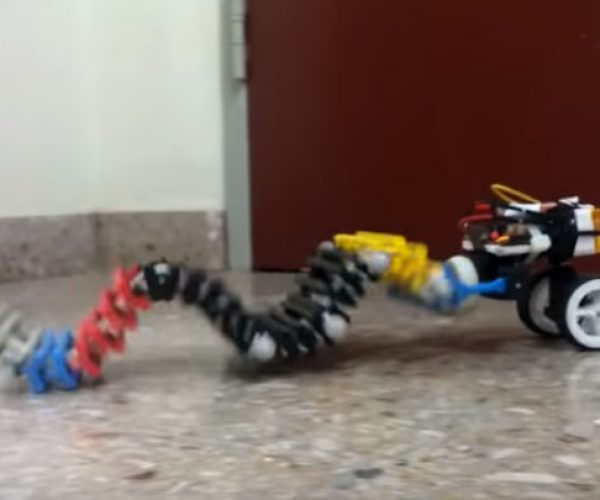 This Crawling, Climbing Worm Robot Is Nightmare Fuel