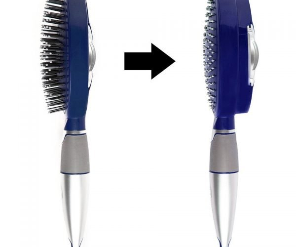 This Self-Cleaning Hair Brush Keeps Bristles from Getting Nasty