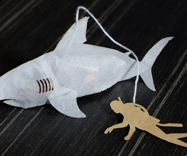 Shark Tea Bags: We're Gonna Need a Bigger Mug