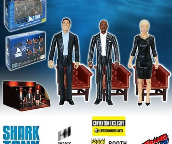 Shark Tank Action Figures Want 50% of Your Company