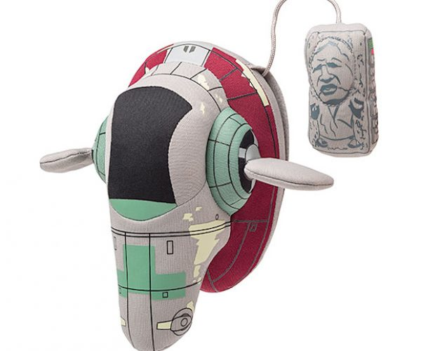 Plush Slave I Comes with Han Solo in Carbonite