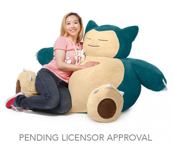 Relax on this Pokémon Snorlax Bean Bag Chair