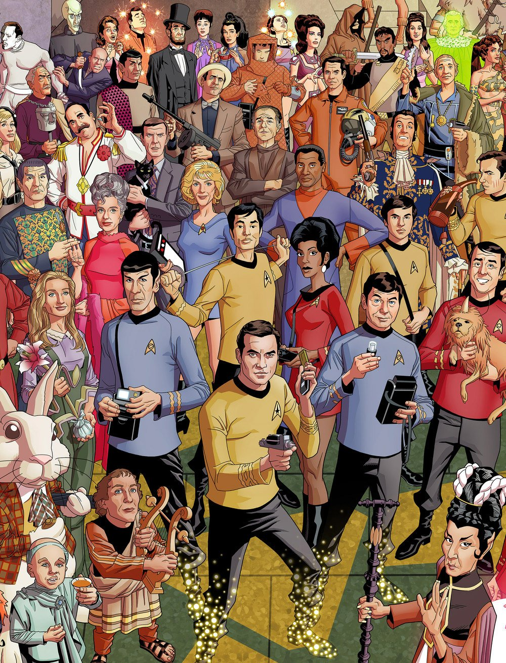 star trek 50th anniversary puzzle has 3000 pieces of frustration
